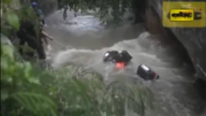 Imagens mostram tentativa de resgate de gaúcha morta no Paraguai