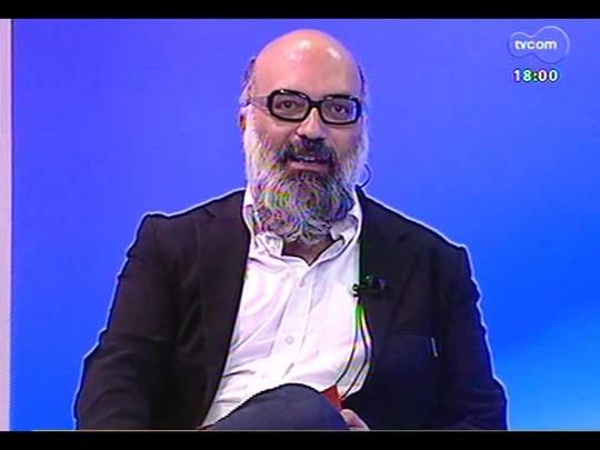 Programa do Roger - Jorge Piqué, fundador da URBSNOVA falando sobre Walking Gallery - Bloco 2 - 19/03/2014