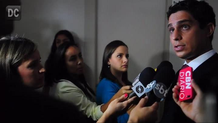 Coletiva de imprensa com o superintendente da PF Paulo Cassiano Júnior