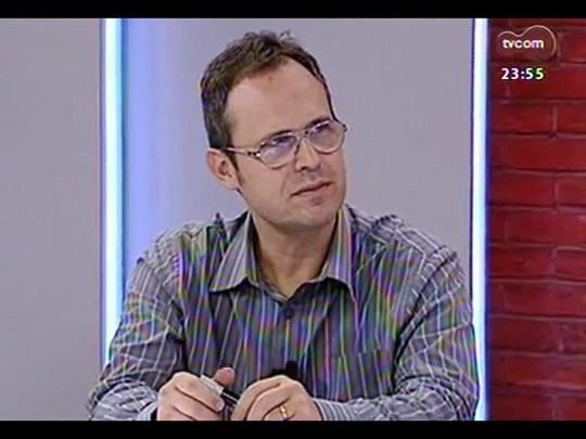 Mãos e Mentes - Repórter especial de ZH e autor do livro \'Coligay - Tricolor e de Todas as Cores\' Léo Gerchmann - Bloco 4 - 14/05/2014