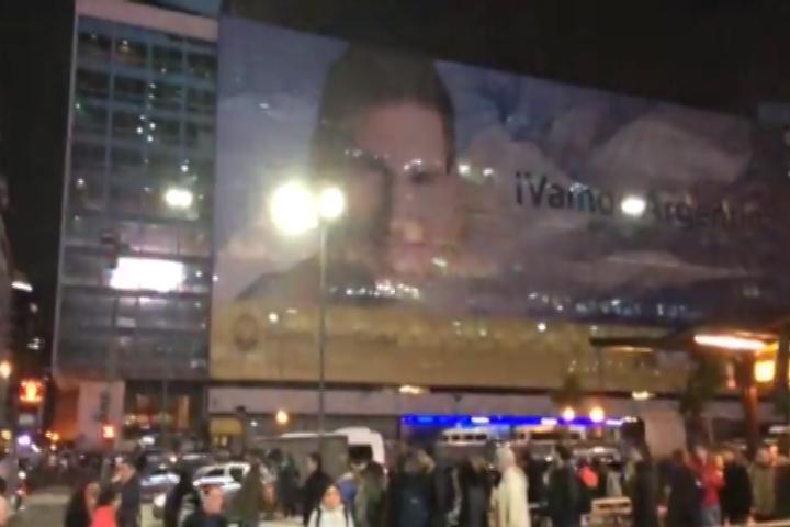 Correspondente do DC na Argentina mostra clima nas ruas de Buenos Aires