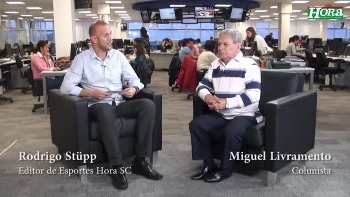 """Miguel Livramento: \""""Se não der mais que 10 mil pessoas na Ressacada, a torcida é frouxa\"""""""