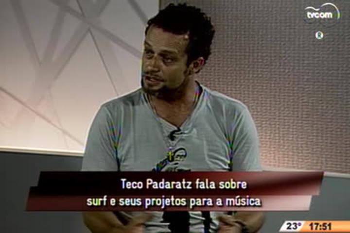 TVCOM Entrevista - Teco Padaratz fala sobre surf e seus projetos para a música - 3º Bloco - 01/11/14