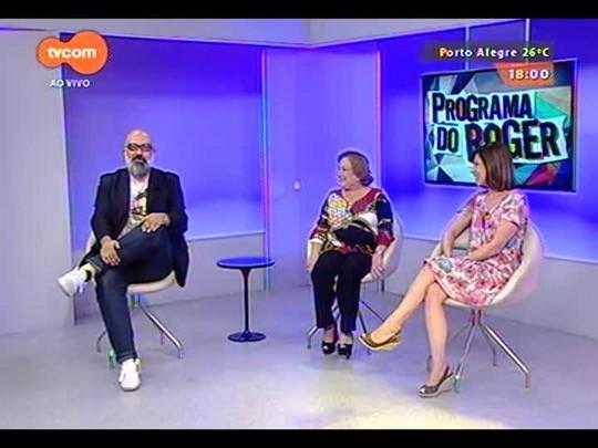 Programa do Roger - Entrevista com Nicette Bruno e Beth Goulart - Bloco 2 - 27/11/2014