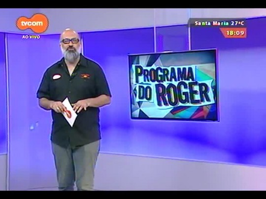 Programa do Roger - Músicos Edu Martins e Paulinho Fagundes - Bloco 3 - 03/12/2014