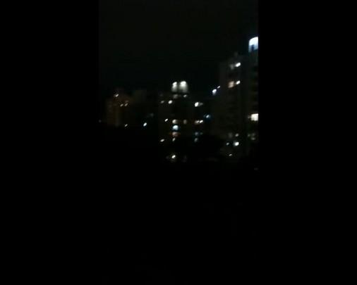 Moradores de Blumenau se manifestam durante pronunciamento partidário na televisão