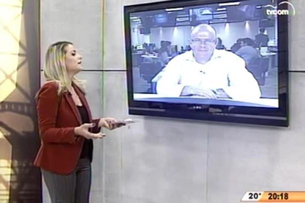 TVCOM 20 Horas - Empresa americana reafirma interesse em assumir restauração da Ponte - 13.05.15