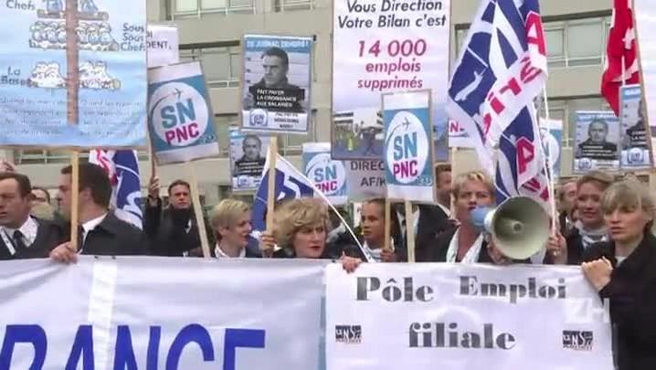 Air France confirma 2,9 mil postos ameaçados