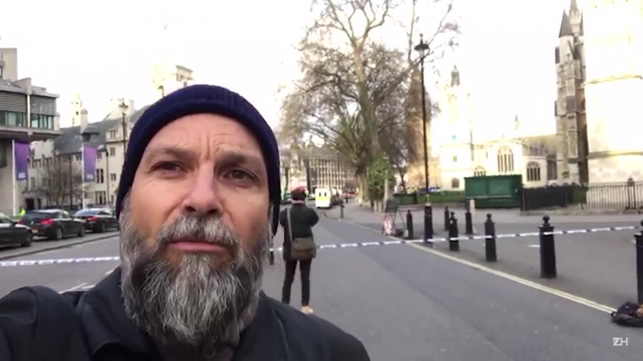 Fotógrafo de ZH descreve tensão em frente ao parlamento britânico
