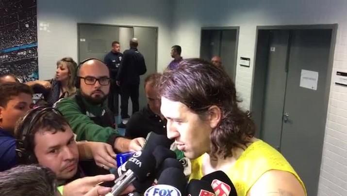 Cássio fala sobre boa atuação contra o Grêmio
