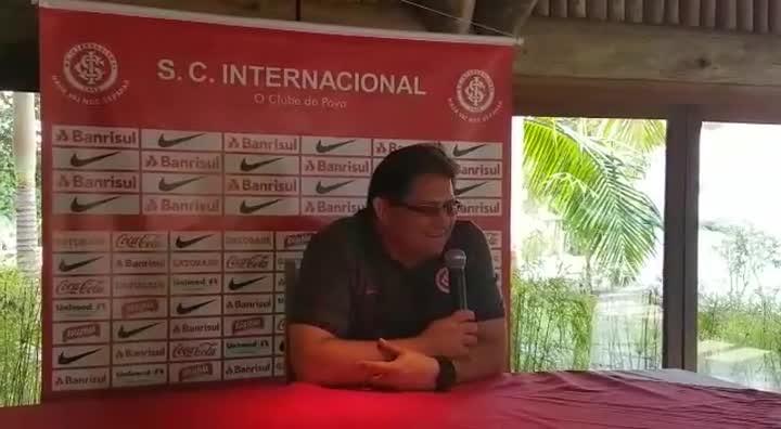 Guto fala sobre período de treinos do Inter