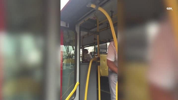 Confusão em ônibus da Capital