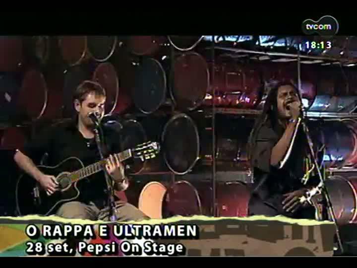 Programa do Roger - Uma bate papo e a música Stereo Maracanã - bloco 3 - 07/08/2013
