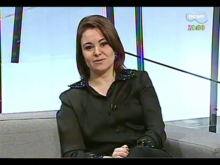 TVCOM Tudo Mais - O destino da biblioteca de Tatata Pimentel e as dicas de livros de Carlos André Moreira