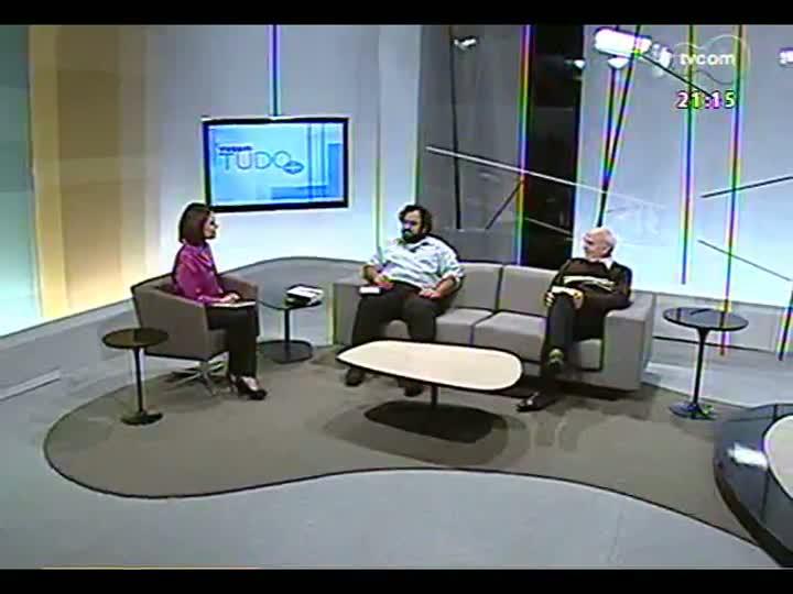 """TVCOM Tudo Mais - Entrevista com J.H. Dacanal sobre o livro \""""Para ler o Ocidente\"""""""