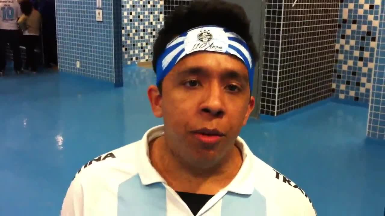 Após derrota, torcida tricolor segue confiante. - Confira o Vídeo - 15/09/2013