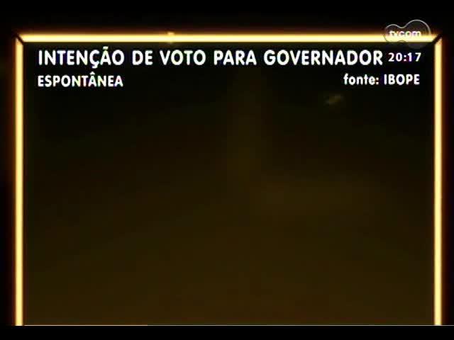 TVCOM 20 Horas - Pesquisa mostra preferência dos gaúchos para eleições 2014 - Bloco 2 - 30/09/2013