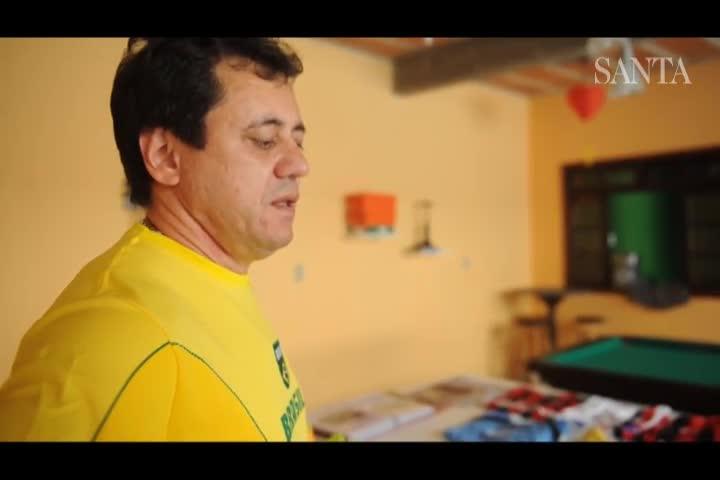 Pais de Nathan, blumenauense que é camisa 10 da seleção no mundial sub-17 falam do filho | Vídeos e Áudios | Jornal de Santa Catarina