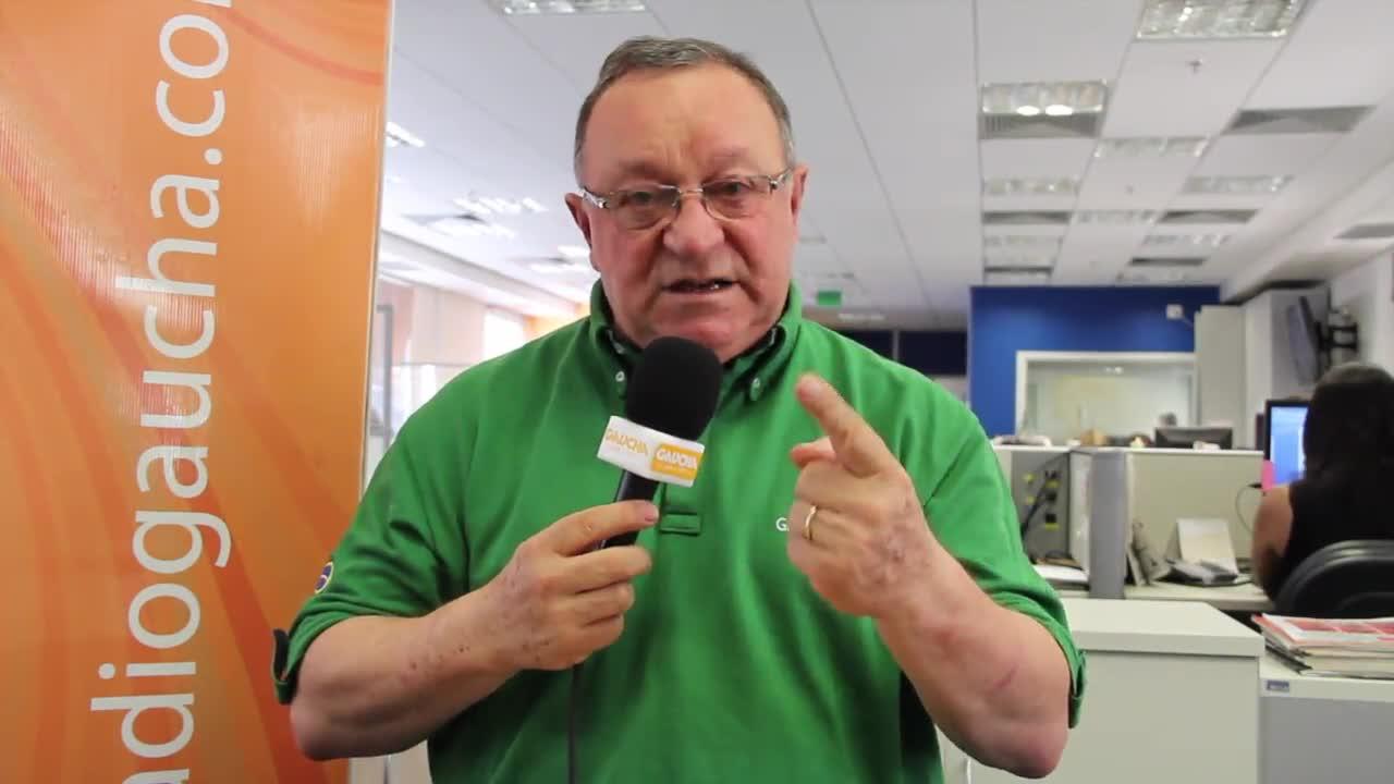 """Pedro Ernesto Denardin: \""""Amistoso contra o Chile é um bom teste para o Brasil!\"""" 19/11/2013"""