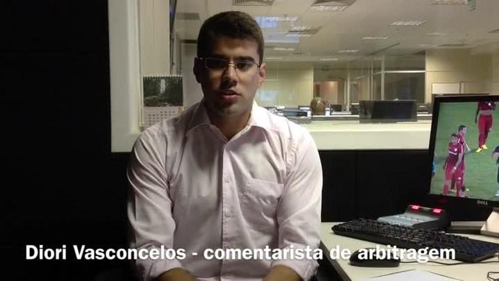 Diori Vasconcelos analisa a arbitragem de Novo Hamburgo x Internacional. 22/01/2014