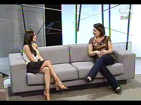 TVCOM Tudo Mais - Fernanda Pandolfi dá dicas de como usar turbante no verão
