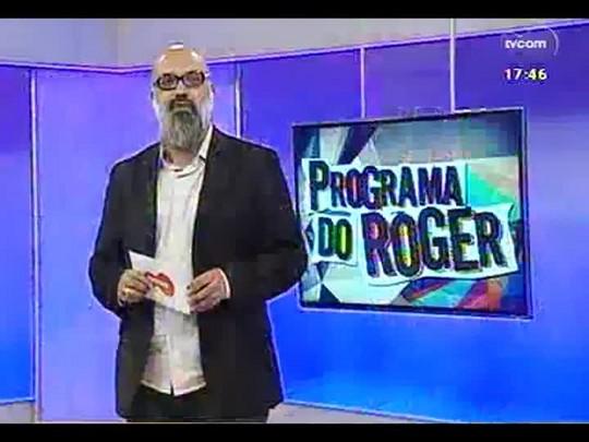 "Programa do Roger - Cantora Andrea Perrone, fala sobre seu show \""Page One\"" - Bloco 1 - 22/05/2014"