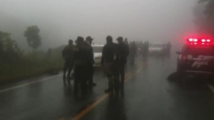 Polícia mata três criminosos após ataque a carro-forte no Vale do Rio Pardo