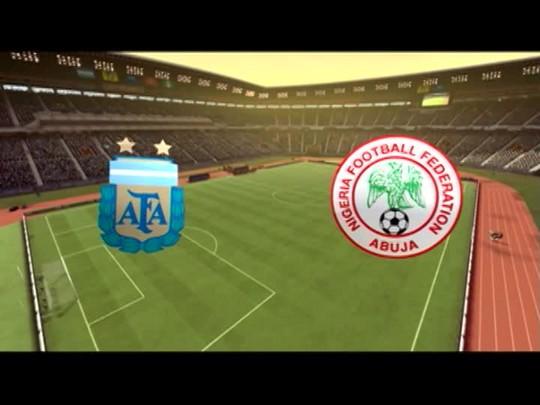Copa Virtual: Nigéria X Argentina
