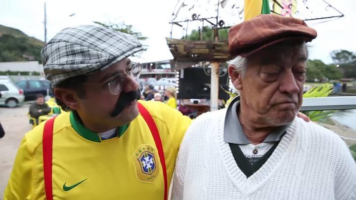 """Joaquim do Pastel e o """"pastelão"""" da Seleção Brasileira"""