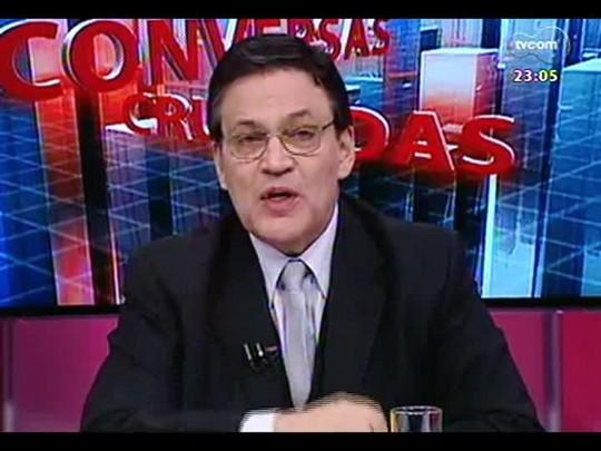 Conversas Cruzadas - As repetidas multas por excesso de velocidade e os problemas e dificuldades de fiscalização - Bloco 4 - 15/08/2014