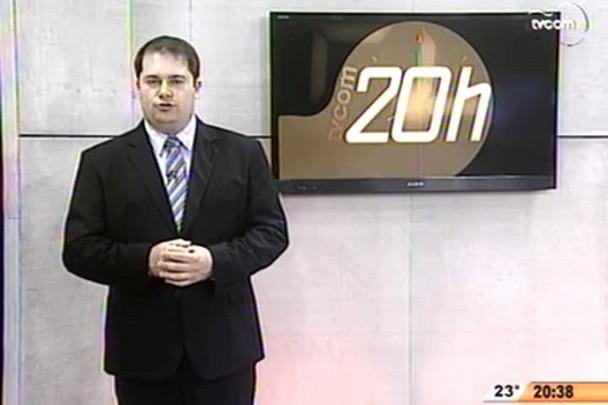 TVCOM 20 Horas - Reajuste na tarifa dos taximêtros - 3º Bloco - 22/08/14