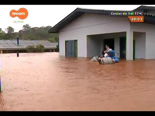 TVCOM 20 Horas - Os prejuízos da chuva na metade norte do estado - Bloco 1 - 30/09/2014