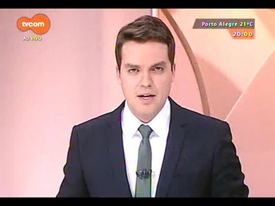 TVCOM 20 Horas - Entrevista com os candidatos na disputa pelo Palácio Piratini no segundo turno: José Ivo Sartori - Bloco 1 - 06/10/2014