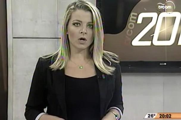 TVCOM 20h - Dois guarda-vidas de Palhoça foram desligados por fumar maconha no horário de trabalho - 5.2.15