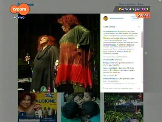 TVCOM Tudo Mais - Morre a atriz e comediante Dandara Rangel