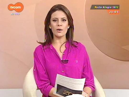 TVCOM 20 Horas - Seis meses de Governo Sartori é marcado pela crise financeira - 01/07/2015