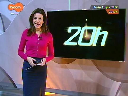 TVCOM 20 Horas - Chama Crioula é acesa no Parque Harmonia e abre oficialmente o Acampamento Farroupilha - 07/09/2015