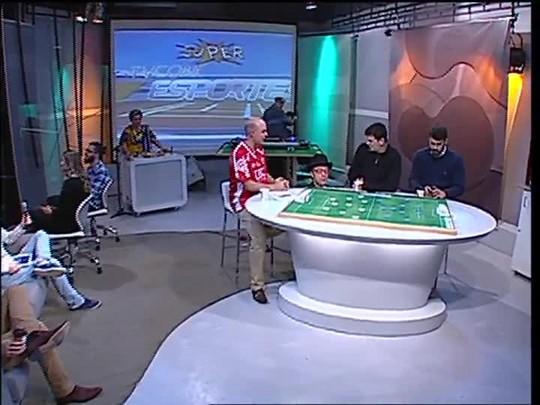 Super TVCOM Esportes - Prof. Adão D\'Jardim - 11/09/15