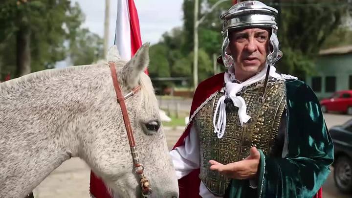 Cavalgada em nome de S�o Jorge