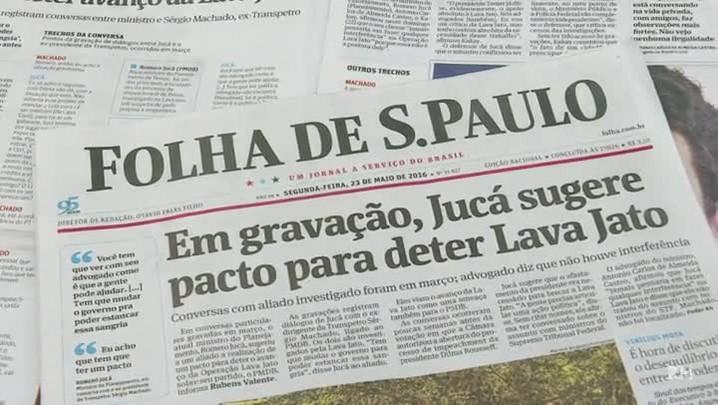 Jucá deixa o Ministério do Planejamento