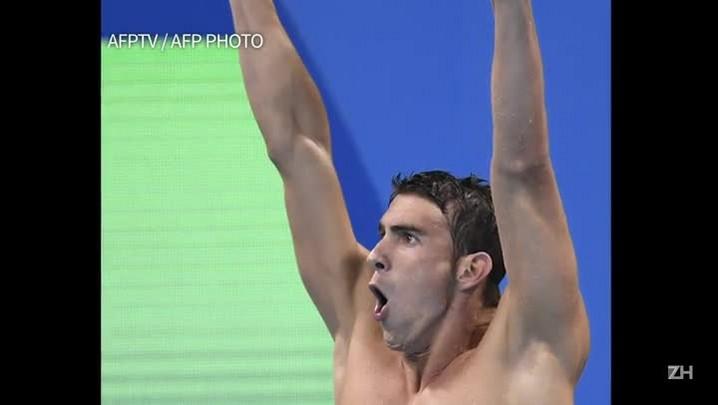 Phelps conquista 23ª medalha olímpica e natação quebra recordes