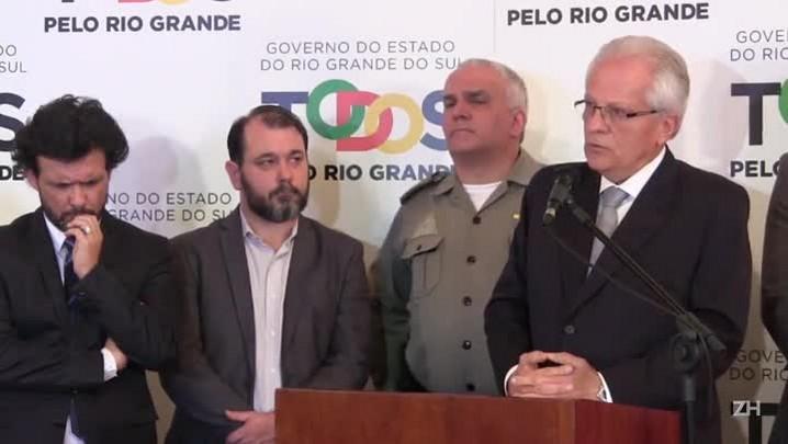Vice-governador admite que trabalho na área da segurança tem sido ineficiente