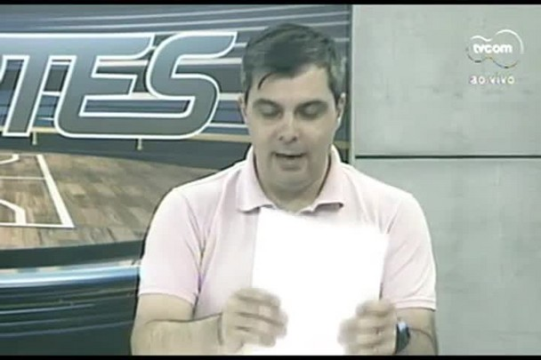 TVCOM Esportes. 2º Bloco. 20.09.16