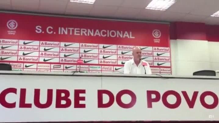 Antônio Carlos Zago: espero ser heptacampeão do Gauchão com o Inter