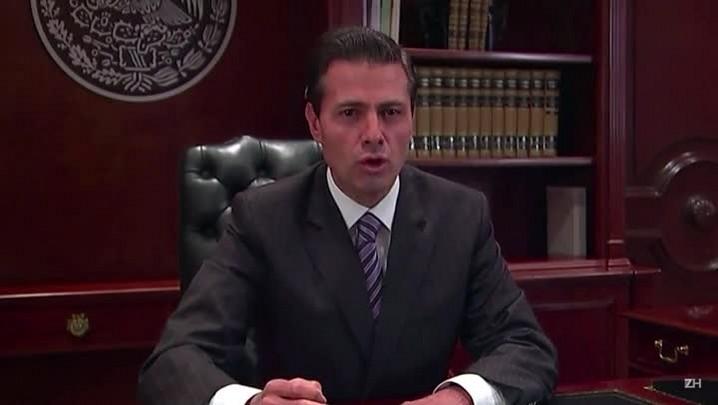 Peña Nieto promete defender mexicanos nos EUA