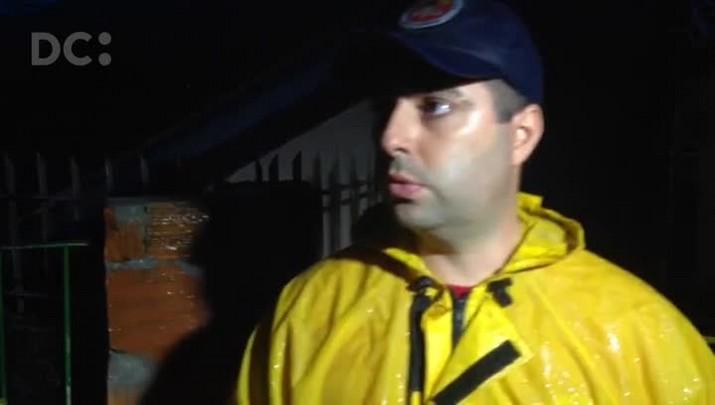 Tenente Pedro Reis fala sobre deslizamento no bairro Caieira do Saco dos Limões, em Florianópolis