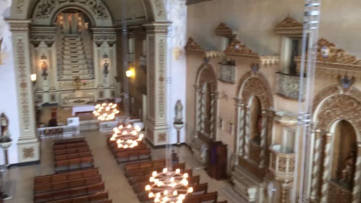Confira como está a restauração da Igreja Nossa Senhora das Dores