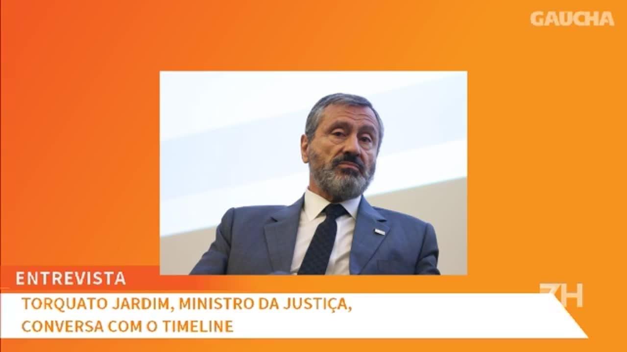 Ministro Torquato Jardim abandona entrevista