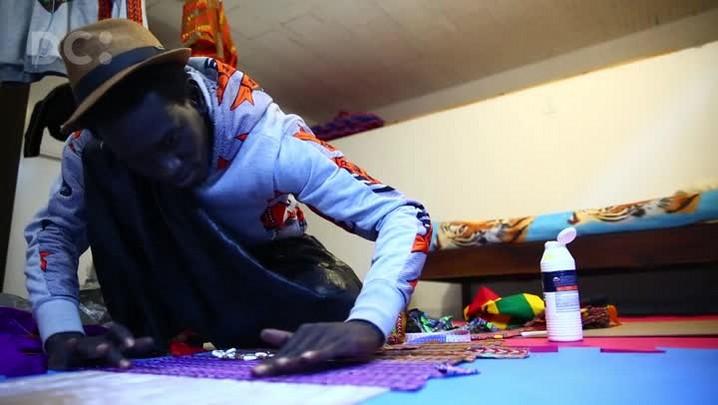Imigrante Senegalês