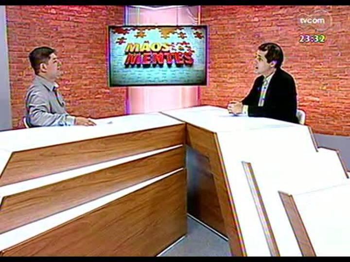 Mãos e Mentes - Diretor da Escola Técnica de Agricultura, Evandro Cardoso Minho - Bloco 1 - 05/04/2013
